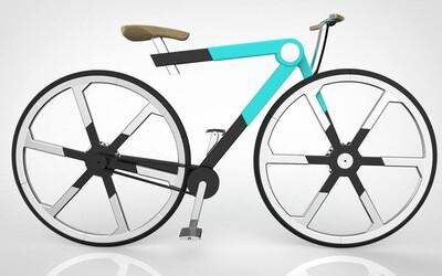 Slováci vymysleli geniálny bicykel. Zložíš ho do batohu a vyzerá ako z budúcnosti
