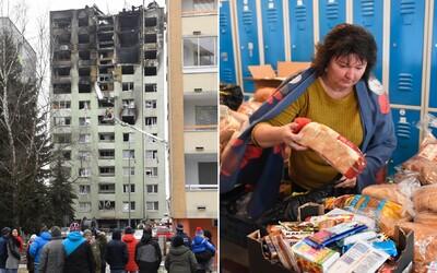 Slováci vyzbierali obetiam tragédie v Prešove stovky tisíc, firma ponúka postele zadarmo. Čo sa udialo od explózie o 12:12:52?