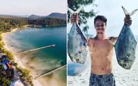 Slovák Adam si splnil sen a otvoril si rezort na rajskom ostrove v Kambodži. Pre koronavírus sa naň nemôže vrátiť