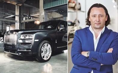 Slovák Jozef Kabaň opouští tým BMW a stává se šéfdesignérem značky Rolls-Royce