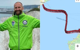 Slovák preplával La Manche. S ťažkými podmienkami bojoval v chladnej vode 16 hodín