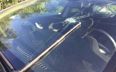 Slovák s teleskopem v ruce na dálnici rozbíjel autům skla. Řidiči ho zbili