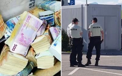 Slovák si na benzínce zapomněl asi 400 000 eur. Tajemný ruksak skončil v rukou policie, ale majitel se přihlásil