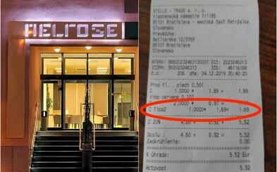 Slovák si v bratislavskom hoteli vymenil s čašníčkou jednu vetu v angličtine, zaúčtovali mu prirážku za cudzojazyčného hosťa