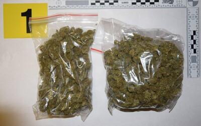 Slovák si z Česka vezl 143 gramů marihuany, ale hned ho chytili policisté. V minulosti už byl za drogy odsouzen