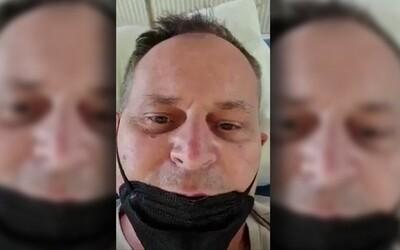 Slovák so zápalom pľúc a s covidom-19 vo videu klame, že bratislavská nemocnica je prázdna. Filmoval nesprávny priestor