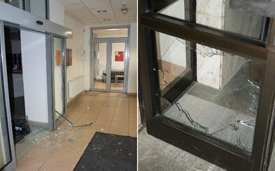 Slovák vtrhol do banky a v amoku rozbíjal dvere aj kancelárske zariadenie. Polícia zisťuje, čo spustilo jeho záchvat