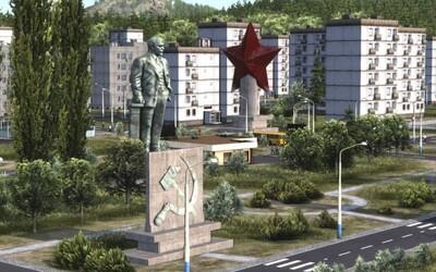 Slovák vytvořil hru, kde budeš simulovat socialismus. Najdeš v ní typické československé budovy a vozidla
