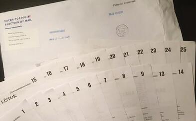 Slovákom hlasujúcim zo zahraničia neprišli všetky lístky s politickými stranami, niektoré boli naopak duplicitné
