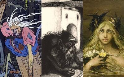 Slovanskí démoni: Zákerné i nápomocné bytosti stelesňujúce prírodné elementy,  bolestivú smrť či nezvratný osud
