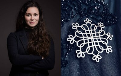 Slovenka Katka vyrába šperky inšpirované folklórom. Jej unikátnu tvorbu vychválil aj prestížny Vogue