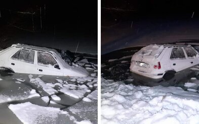 Slovenka se nemohla 2 hodiny dostat z Felicie, která se potápěla do ledové vody