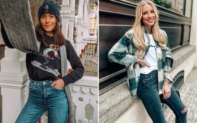 Slovenky a Češky kráčajú s módou ruka v ruke. Sleduj 10 najlepších outfitov za uplynulý mesiac