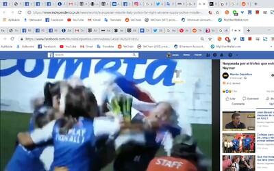 Slovenky nechtiac knockoutovali spoluhráčku, keď dvíhali trofej za víťazstvo na Neymarovom turnaji