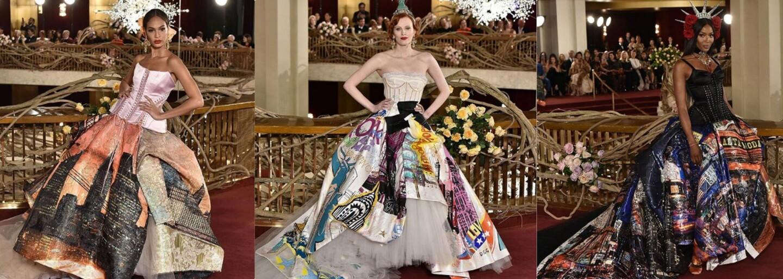 Slovenky rozhodne patria medzi najkrajšie ženy. Pre známu značku Dolce & Gabbana predvádzala jedna z našich modeliek