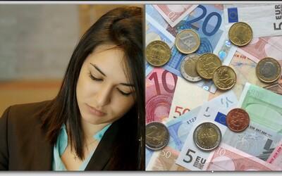 Slovenky zarábajú o 19 % menej peňazí než Slováci