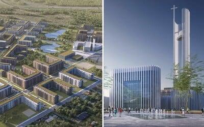 Slovenská cirkev chce vlastné sídlisko a obrovský kostol. V Petržalke plánuje postaviť novú štvrť s takmer 2 500 bytmi