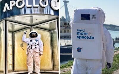 Slovenská firma hľadá zamestnancov poriadne zvláštnym spôsobom. Zvládnuť musia cestu do vesmíru