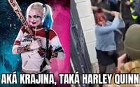 Slovenská Harley Quinn a stretnutie z vysokej školy života. Slováci sa zabávajú na demonštrantoch proti Matovičovi