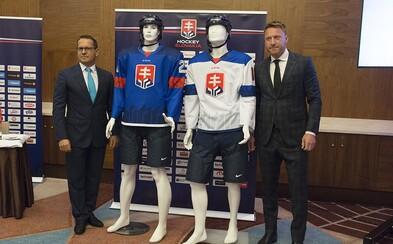 Slovenská hokejová reprezentácia by mohla za nové dresy a logo prísť o peniaze od štátu. Nevyhovuje trojvršie s hokejkami