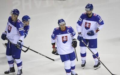Slovenská hokejová reprezentácia poráža Dánsko. Rozhodol Ladislav Nagy, ktorý sa lúči s kariérou