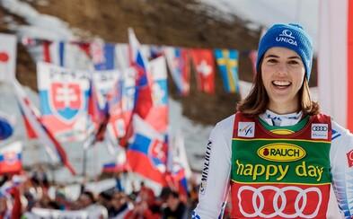 Slovenská lyžiarka Petra Vlhová opäť boduje: Dosiahla najlepší čas aj v prvom kole druhého slalomu Svetového pohára
