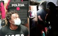 Slovenská polícia chytila nebezpečného kriminálnika. Obchodoval s drogami a údajne dobodal muža, hrozí mu doživotie