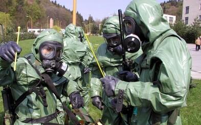 Slovenská polícia cvičila s armádou zásah proti rádioaktívnym a toxickým látkam