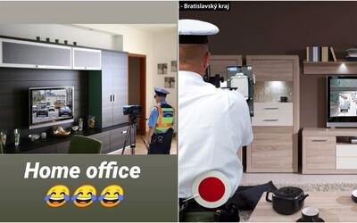 Slovenská polícia musela ubezpečiť vodičov, že nemerajú rýchlosť z obývačky. Internet totiž ovládol hoax