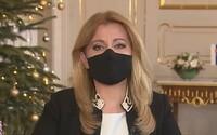 Slovenská prezidentka Čaputová: Byl to rok lží, manipulací, ale také boje proti korupci