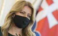 Slovenská prezidentka nahrála emotivní video se svým otcem, vyzývá k nošení roušek