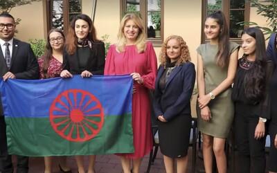 Slovenská prezidentka Zuzana Čaputová k Romům promluvila romsky: But bacht the sastipen tumenge savorenge