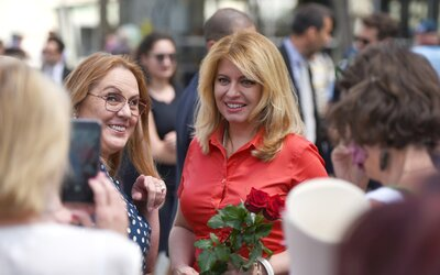 Slovenská prezidentka Zuzana Čaputová podpořila Duhový PRIDE. Přeje si tolerantní zemi, kde nikdo nemusí skrývat svou identitu