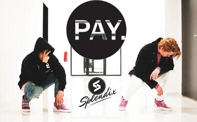 Slovenská spolupráca Splendix a PAY. clothing s dvojicou limitovaných tenisiek