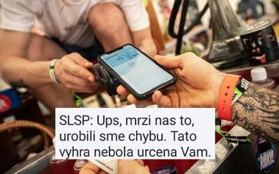 """Slovenská sporiteľňa poslala výhernú SMS aj ľuďom, ktorí 20 € nevyhrali. """"Už som ich prepil,"""" odkazuje zákazník"""