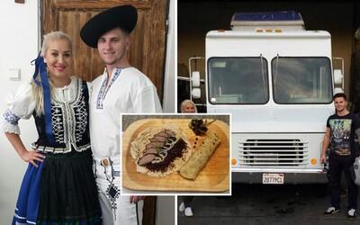 Slovenská zamilovaná dvojice, která začala gastronomickou revoluci v Los Angeles. Slovenské pochoutky nabízejí Američanům z auta (Rozhovor)