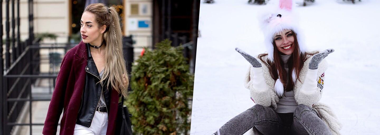 České a slovenské ulice byly v lednu plné krásně oblečených dam. Vděčíme za to zimě a vrstvení?