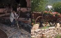Slovenské dôchodkyne po večeroch skrášľujú svoju dedinku. Odstraňujú burinu či sadia kvety, radosť z výsledku majú všetci