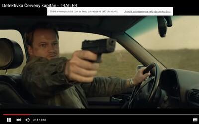 Slovenské krimi Červený kapitán podľa knihy Dominika Dána púta akčným trailerom