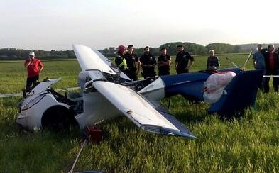 Slovenské lietajúce auto havarovalo, vodič sa zachránil vďaka núdzovému padáku
