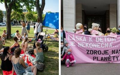 Slovenské mamičky sa búria proti klimatickej kríze. Našim politikom odkazujú, aby sa netvárili pripečene a začali konať