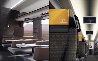 Slovenské vlaky plné luxusu a futuristického dizajnu. Návrh ukazuje, ako by sme sa raz mohli voziť so ZSSK