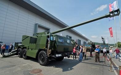 Slovenské zbrojárstvo predstavuje novú mašinu, takto vyzerá húfnica EVA