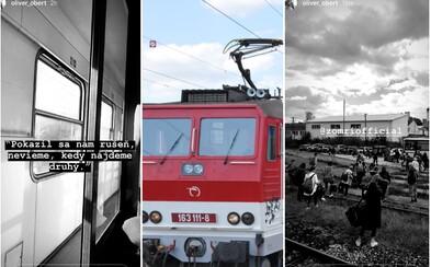 Slovenské železnice si pripisujú ďalšie zlyhanie. Pokazil sa rušeň, vlakvedúci išiel hľadať druhý