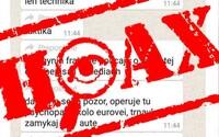 Slovenskem se šíří závažný hoax o vraždách v Bratislavě. Policie upozorňuje, že za šíření poplašné zprávy hrozí 2 roky