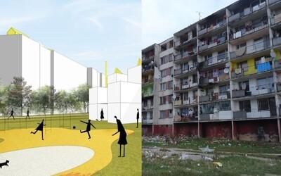 Slovenskí architekti riešia problematický Luník IX. Známe sídlisko sa v ich návrhoch mení na nádhernú oázu