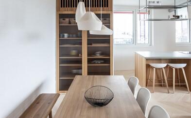 Slovenskí architekti ti ukážu, ako si poradili s rekonštrukciou zanedbaného bytu