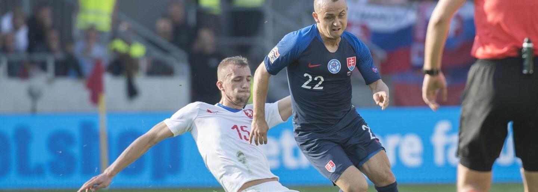 Slovenskí futbalisti prehrali aj druhý zápas v Lige národov, tentoraz s Českou republikou