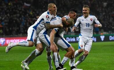 Slovenskí futbalisti zostávajú po výhre nad Macedónskom neporazení a majú plných 18 bodov!