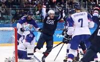 Slovenskí hokejisti končia na olympiáde! Ani bojovný výkon im proti USA nestačil, a tak podľahli rozdielom triedy 5:1